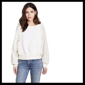 Free People Faff and Fringe Pullover
